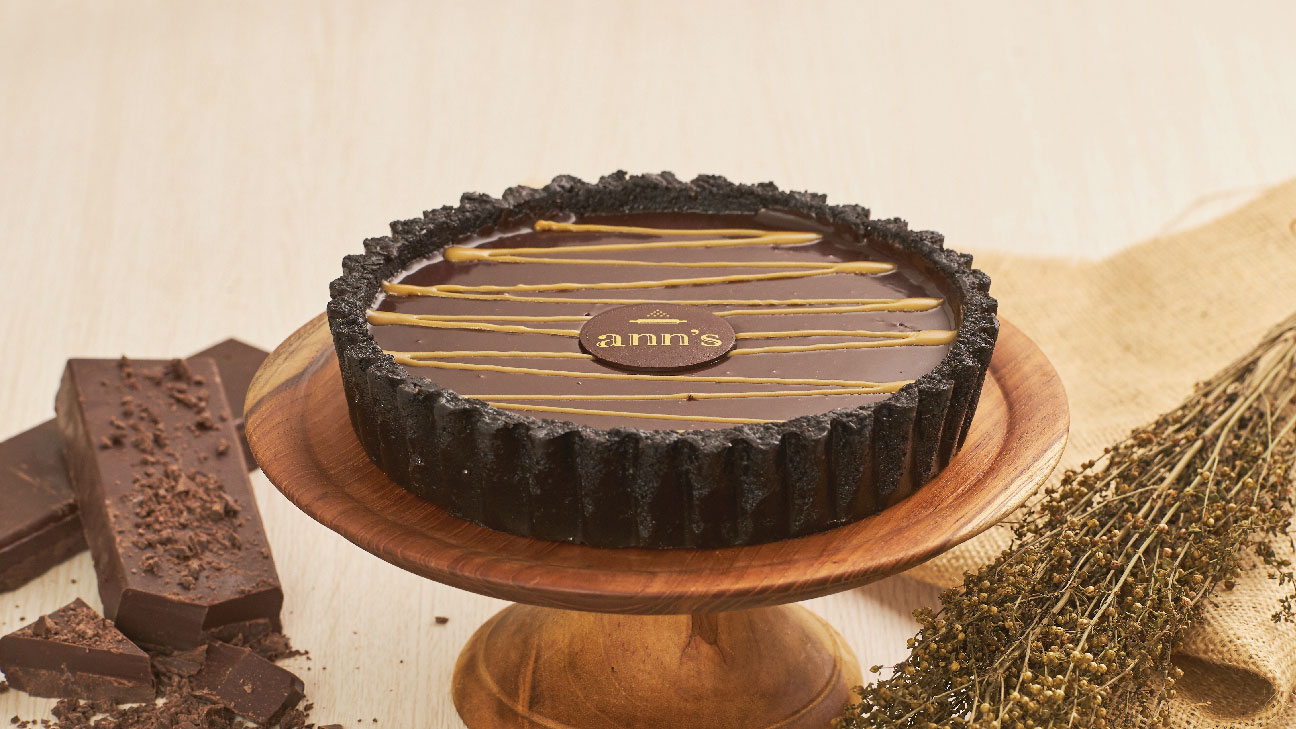Chocolate Salted Caramel Tart (CT)